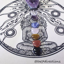 Load image into Gallery viewer, Goddess linen crystal grid - The7directions