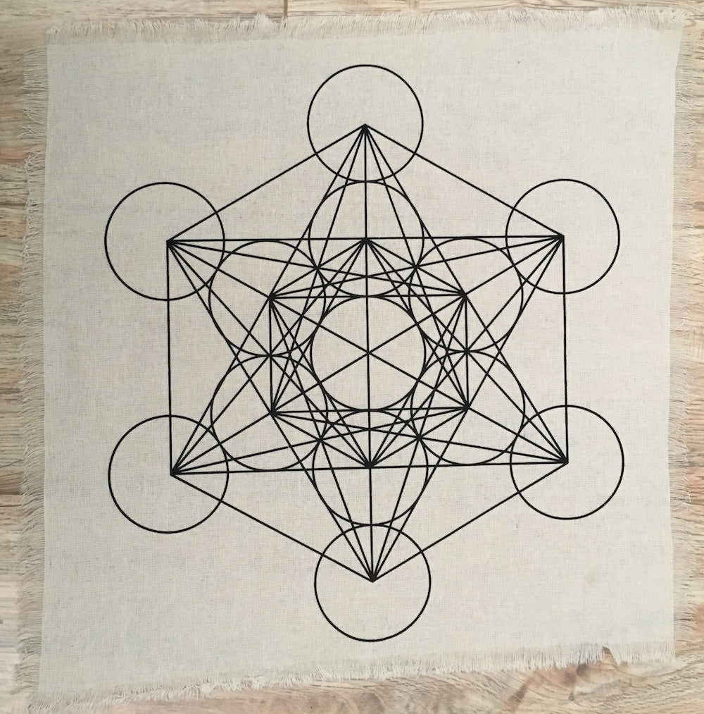 Metatron crystal grid - The7directions