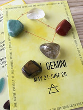 Gemini Sacred Geometry Constellation Crystal Grid **Free Ship
