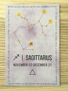 Sagittarius Sacred Geometry Constellation Crystal Grid ** Free Ship