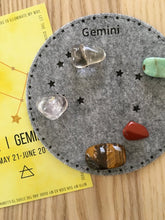 Load image into Gallery viewer, Gemini Sacred Geometry Constellation Crystal Grid - The7directions