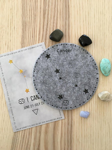 Cancer Sacred Geometry Constellation Crystal Grid - The7directions