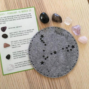 PIsces Sacred Geometry Constellation Crystal Grid ** Free Ship