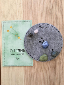Taurus Sacred Geometry Constellation Crystal Grid - The7directions