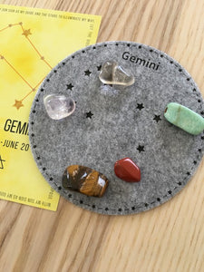 Gemini Sacred Geometry Constellation Crystal Grid