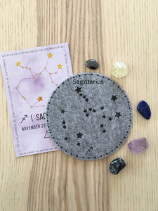 Sagittarius Sacred Geometry Constellation Crystal Grid - The7directions