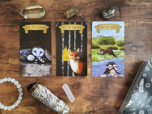 Tarot Fauna Oracle deck ** Free Ship