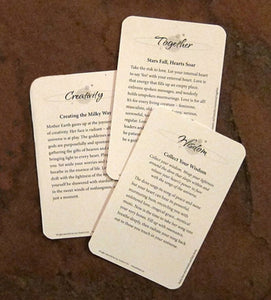 Eartheart Wisdon Affirmation Deck - The7directions