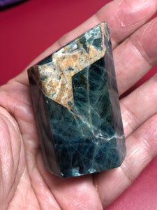 Green Apatite sacred geometric shape tower XDN - The7directions