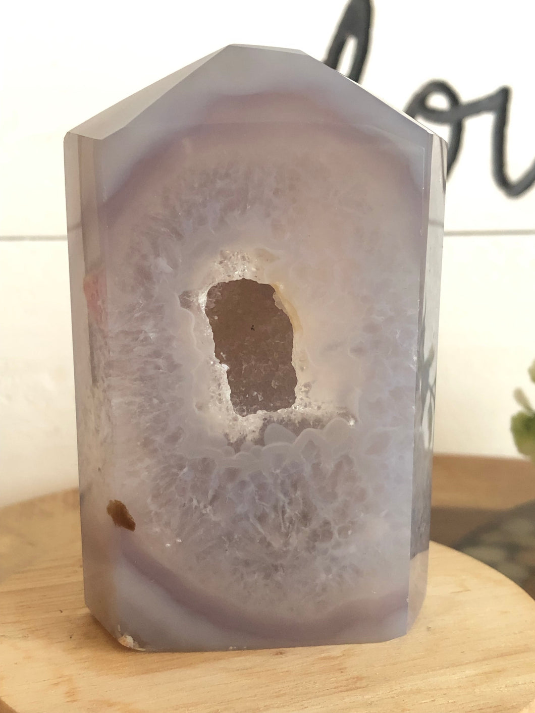 Agate Druzy Tower Point X5X - The7directions