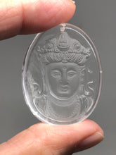 Load image into Gallery viewer, Clear quartz Buddha pendant talisman X8 - The7directions