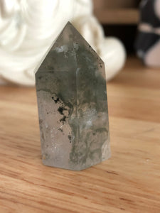 Small Lodolite tower Garden quartz FCX - The7directions