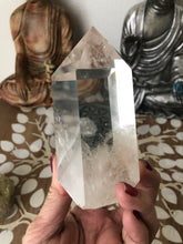 Clear quartz tower Clarity generator SXK - The7directions