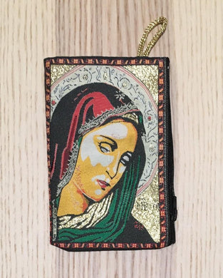 Madonna and child mala pouch coin purse SEZ - The7directions