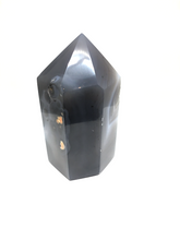 Load image into Gallery viewer, Agate Druzy Tower Point XGM - The7directions