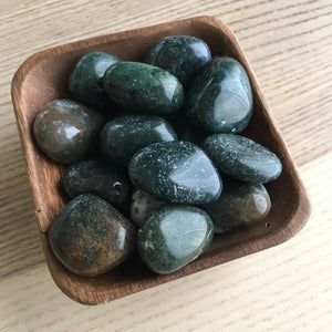 Tumbled Moss Agate x 3 - The7directions