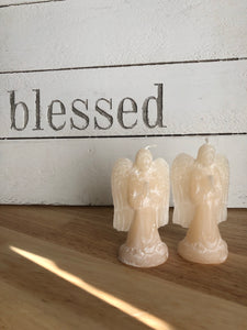 "3.9"" Angel statue candles altar XSS - The7directions"