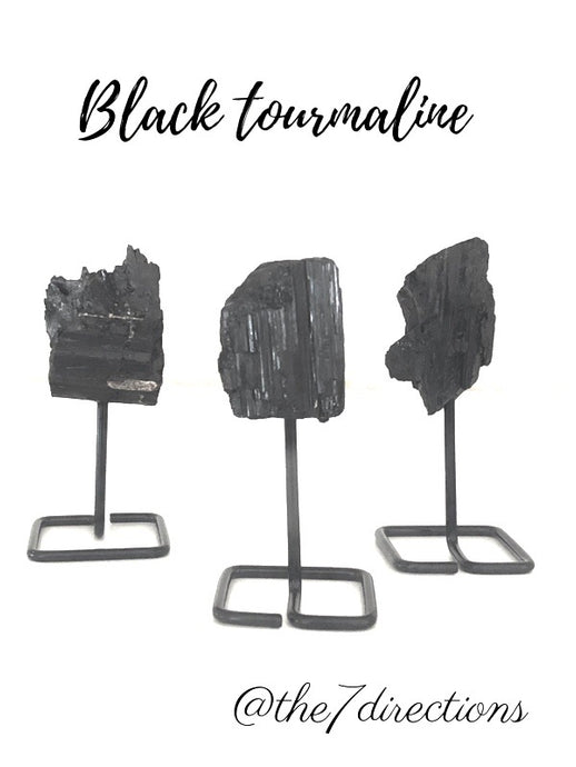 Mini black tourmaline tower SA2D - The7directions