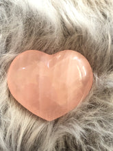 Rose quartz heart X3ED