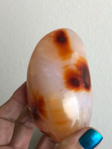 Carnelian jasper Free Form Vitality Healing  84mm XZ6 - The7directions