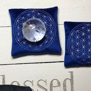 Intention pillow - Flower of life write your intention - The7directions