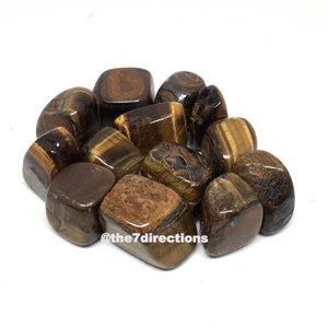 Tumbled Tiger eye x 3 - The7directions