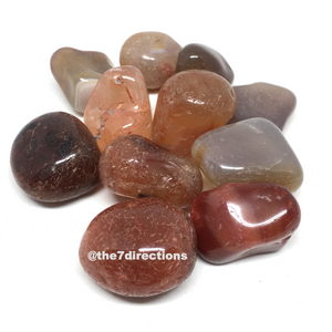 Tumbled Carnelian x 3 - The7directions