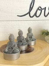 Load image into Gallery viewer, Set of 3 Buddha statue candles altar X2R - The7directions