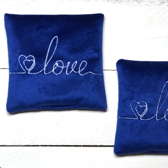 Intention pillow - Love -  write your intention - The7directions
