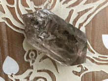 Large DT Smoky quartz Double terminated Grounding M4C