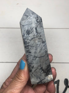 Spider web jasper tower healing ZBC