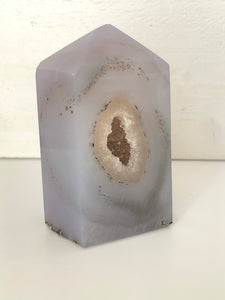 Agate Druzy Tower Point XK3 - The7directions