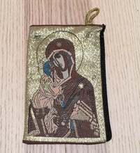 Load image into Gallery viewer, Madonna and child mala pouch coin purse SRS - The7directions
