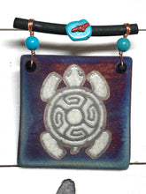 Load image into Gallery viewer, Turtle animal spirit crystal grid altar tile