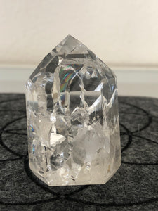 Clear quartz Fire and Ice tower Clarity generator S25 ** - The7directions