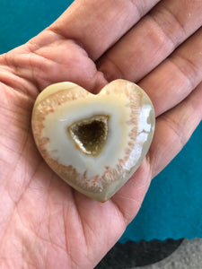 Agate Druzy Heart K2X * - The7directions