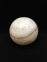 White Calcite Sphere SE9