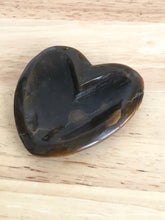 Load image into Gallery viewer, Tiger eye heart shaped bowl ZMK