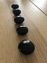 Black Tourmaline palm stone - The7directions