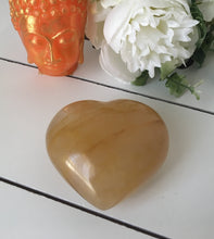 Load image into Gallery viewer, Golden Healer Heart (Hematoid Quartz) SF66 - The7directions