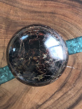 Load image into Gallery viewer, XL 85mm Garnet sphere sacral root chakra healing X3S - The7directions
