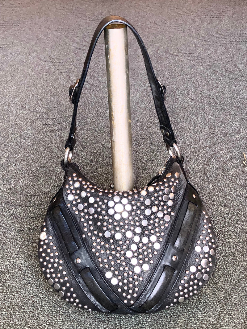 Frye Studded Saddle Bag