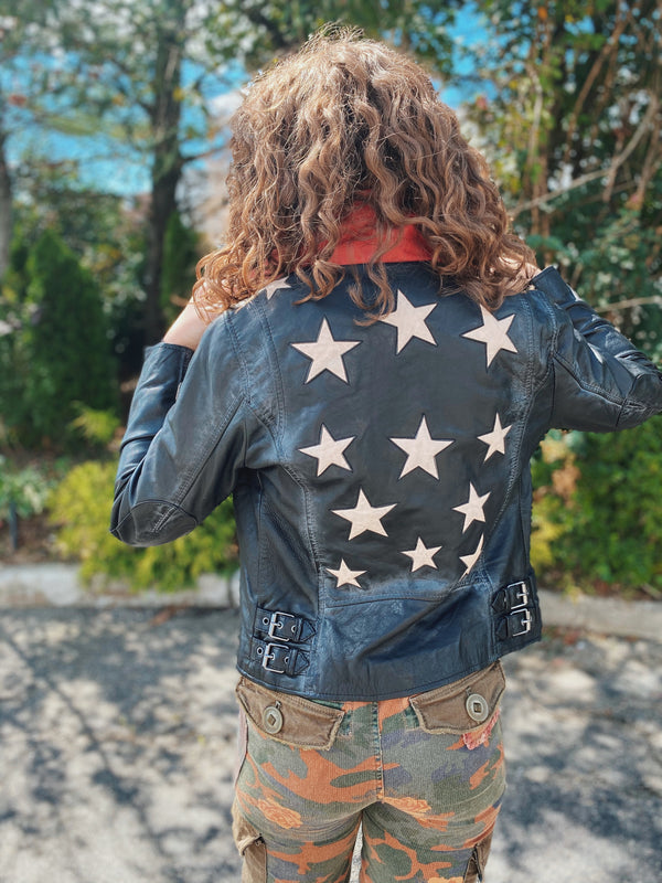 Easy Rider Star Leather Jacket
