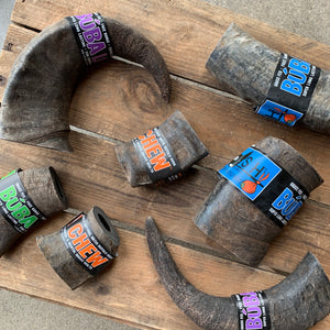 Buba Water Buffalo Horn Chew