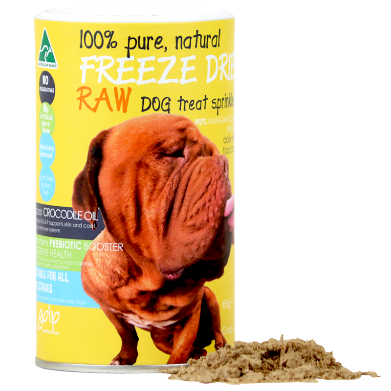 Australian Kangaroo Freeze Dried Dog Sprinkles - 100g