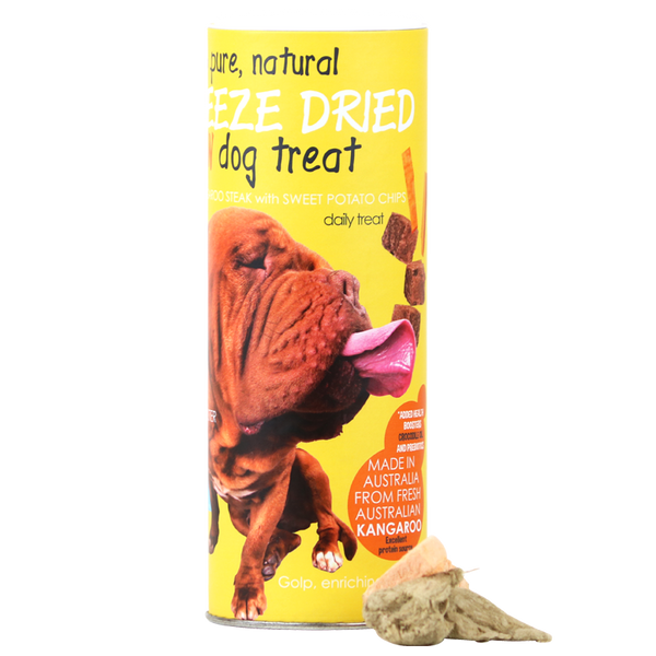 Australian Kangaroo Freeze Dried Dog indulgent - 80g