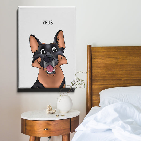 Pet Creations UK Pet canvases