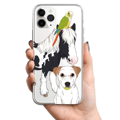 CUSTOM CLEAR PHONE CASE - EXISTING CUSTOMERS