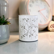 Load image into Gallery viewer, Electric Wax Warmer - Dragonfly White Cut Out Warmer
