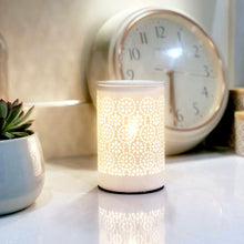 Load image into Gallery viewer, Electric Wax Warmer - Circle White Cut Out Warmer